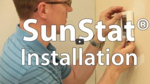 SunStat Thermostat Installation
