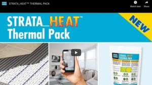 STRATA_HEAT Laticrete THERMAL PACK Video